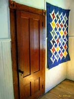 Old Door, New Quilt