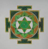 Meditation Art-Intellect Yantra