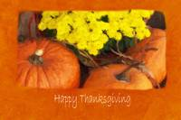 Halloween Pumpkins 2 - Happy Thanksgiving