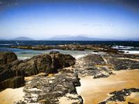 Tasmanian beach rocks