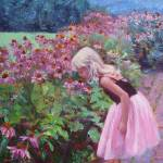 """Ballerina in Garden"" by mariewitte"