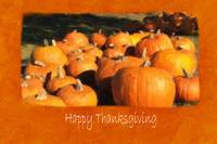 Halloween Pumpkins 4 - Happy Thanksgiving