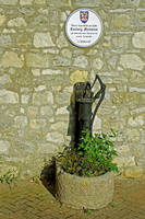 Rectory Mansion and Hand Pump, Brading (24951-RDA)