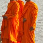 """Laughing Monks, Angkor Wat, Cambodia"" by ReimeiPhotography"