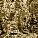 """Angkor Thom Saints, Cambodia"" by ReimeiPhotography"
