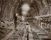Caldicott Tunnel under Construction 1935 by WorldWide Archive