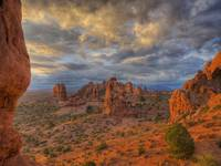 Dawn Scene, Arches National Park