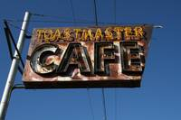 Toastmaster Cafe Sign