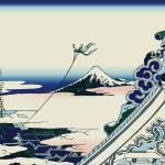 Hokusai Asakusa Hongan-ji temple by Leo KL
