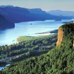 """Columbia River Gorge"" by netbrands"