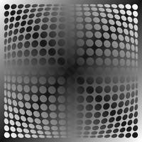 Op Dots Spherical Gray