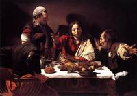 Caravaggio Supper At Emmaus 2