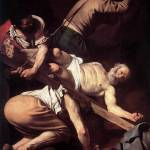 Caravaggio The Crucifixion Of Saint Peter by Leo KL