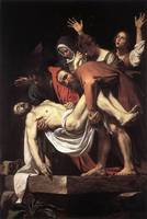 Caravaggio The Entombment