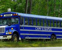 Camp Runamuk Bus in Vermont