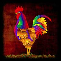 Colorful Rooster (1)