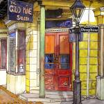 """""""Gold Mine Saloon"""" by thefrenchquartergallery"""