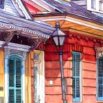 """French Quarter Houses"" by thefrenchquartergallery"