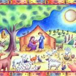 """""""A Nativity Scene"""" by jenniferthermes"""