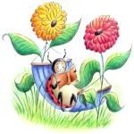 """""""Reading Bug!"""" by jenniferthermes"""