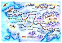 Iditarod Trail Map
