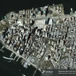 """Manhattan, New York City"" by GeoEye"