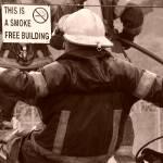 """""""rain , smoke & the fire fighter"""" by ske"""