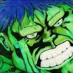 """Hulk"" by ByronMorrisArt"