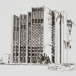 """Michigan Bell Building"" by LeChateauGallery"