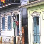 """French Quarter Sidewalk"" by thefrenchquartergallery"