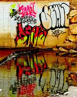 Graffiti Reflection