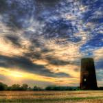 """Old Windmill Tower HDR"" by georgefairbairnphotograph"