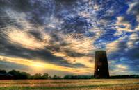 Old Windmill Tower HDR