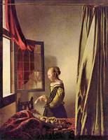 Girls at the Open Window by Vermeer