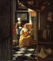 The Love Letter by Vermeer