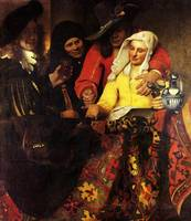 The Procuress by Vermeer