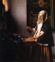 Weights by Vermeer
