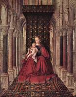 The Virgin and Child by Jan Van Eyck