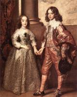 William of Orange with Future Bride by van Dyck