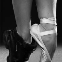 ballet dancer's feet Art Prints & Posters by Baechler Gallery