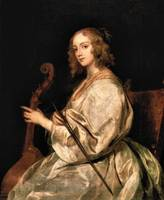 Portrait of Mary Ruthven, wife of Anthony van Dyck