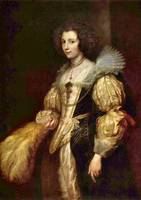 Portrait of Marie-Louise de Tassis by van Dyck