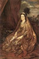 Portrait of Elisabeth Theresa by Anthony van Dyck
