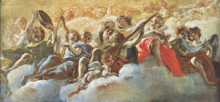Musical Angels by Anthony van Dyck