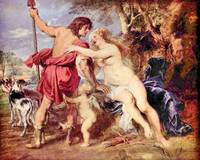 Venus and Adonis by Peter Paul Rubens