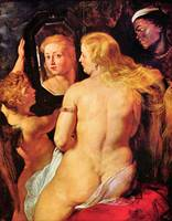 Toilette of Venus by Peter Paul Rubens