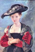 The Straw Hat by Peter Paul Rubens