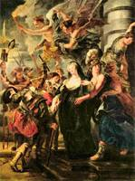 The Medicis Queen Escapes from Blois by Rubens