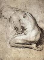 Study of Mary Magdalene by Rubens