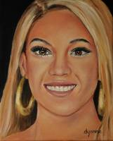 Beyonce Celebrity Painting